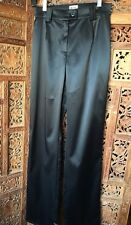 Flirty Holiday Black Satin Dolce & Gabbana (J&Ans) Pants. Size 26
