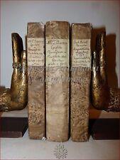CLASSICI - CICERONE L'Epistole ai Familiari + Supplemento 3 voll Venezia 1783-84