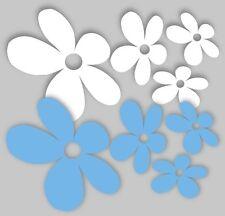 Decoración de paredes modernos de color principal azul para el hogar