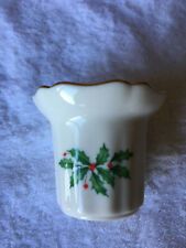 Lenox Christmas Holly Votive Candle