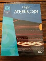 Athens 2004 Olympic Games- 4 DVD Set Opening Ceremony, Highlights, Closing New