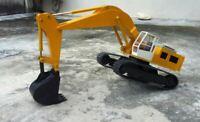 PLANS - Liebherr 50 ton Hydraulic Excavator Model Build Hobby Plans dvd