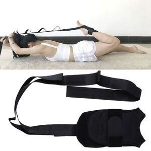 Yoga Ligament Stretching Belt Foot Drop Strap Leg Training Foot AnkleCorrecti Fx