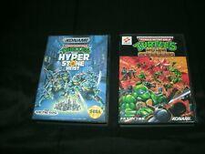 Teenage Mutant Ninja Turtles: Hyperstone Heist Genesis + Mega Drive Versions CIB