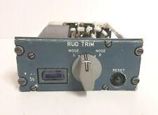 Airbus Aircraft 115VU Rudder Trim Control Panel