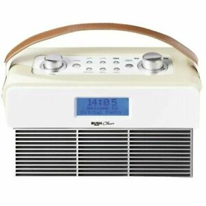 Bush Classic DAB & FM Radio with Bluetooth Capability in Cream - NEW FREE P&P