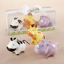 Bank Buddies 3-Piece Safari Bank Gift Set Baby Shower Gift