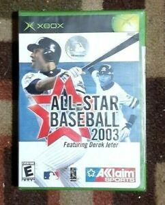 All-Star Baseball 2003 (Microsoft Xbox, 2002) New & Sealed