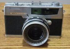 Vintage Petri 7 S Circle Eye System 35mm used Camera with 2.8 45mm lens and case