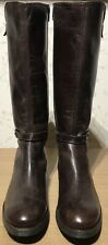 Size 4 EU 37 100% Genuine Ladies Womens Premium Real Leather Knee High Boots GHL
