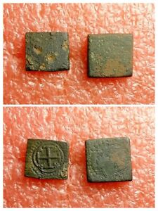 Spain 2pc Coins Weight for Spanish Escudo & Doubloon, 3.2gr & 6.4gr