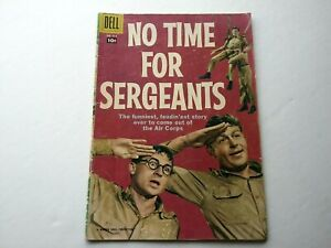 NO TIME FOR SERGEANTS💥# 914💥1958💥ANDY GRIFFITH💥CLEAN COMIC💥DELL 10¢