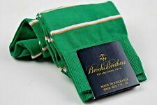 NWT Men's Green striped dress socks Brooks Brothers Size 7 1/2 - 12 New