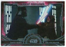 2016 Star Wars Masterwork Great Rivalries Foil GR-1 Obi-Wan Darth Vader 170/299
