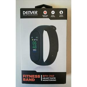 Denver Activity Tracker BFH-240 (schwarz) – Wasserbeständig, Herzfrequenzmesser