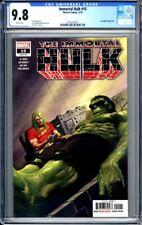 IMMORTAL HULK #15 - CGC 9.8  Alex Ross cover. Marvel 5/19