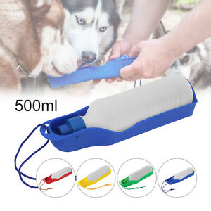 Portable Pet Dog Water Bottle Outdoor Travel Cups Drinking Bowl Water Dispenser