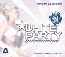 CD Album: Javi Cannus & John de Ago: white party global phenomena tour. 2 cds B2