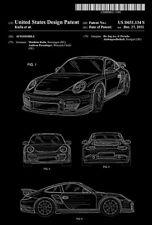 2011 - Porsche 911 - Automobile - M. Kulla - Patent Art Poster