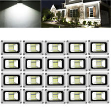 20X 10W LED Flood Light Cool White Outdoor Lighting Garden Lamp Spotlight AC110V