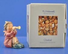 Vintage Hummel Figurine 391 Girl With Trumpet #733 mib nos