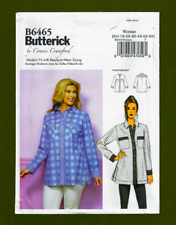 Shirt or Tunic with Pockets Sewing Pattern (Plus Sizes XXL-6X) Butterick 6465