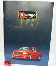 BURAGO CATALOGO DIE-CAST EDICION 2000  NUEVO 96  PAGINAS