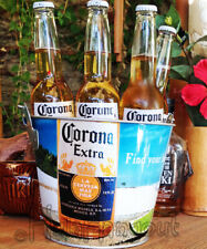 Corona Beer Beach Ice Bucket -Full Color -Free Expedited Shipping