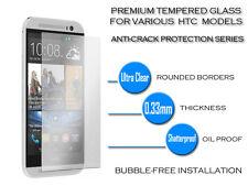 Nuevo Ultra Transparente Ultra Delgada 0,33 Mm De Vidrio Templado Inastillable Para Htc One Mini 2