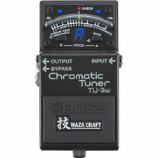 Boss TU-3W TU3W Waza Craft Chromatic Tuner with Bypass New