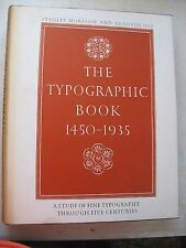 1963 US EDITION MORISON DAY The Typographic Book 1450-1935 lettering w slipcase