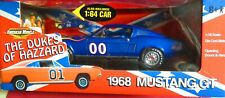 """COOTER'S 1968 MUSTANG GT, 1/18 ERTL AMERICAN MUSCLE, """"THE DUKES OF HAZZARD"""" RARE"""