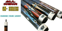 Champion GN Pool Cue Stick with 5/16x18 Joint, Black Fury Case, Cuetec Glove