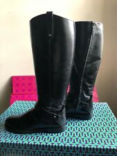 06f200926154 Tory Burch Riding Boot Colton 7.5 with Wide Calf
