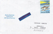 Norway Cover Thematic Postal Stamps