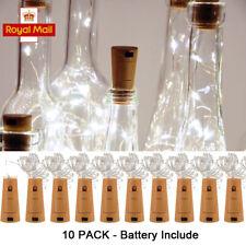 10pcs Fairy Cork LED Lights String Bottle Stopper Wedding Party Events Birthday