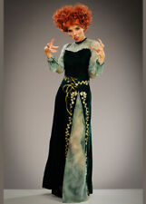 Womens Hocus Pocus Style Green Witch Costume