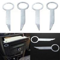 Car Radio Stereo Pin Removal Release Tool Key Repair Panel Kit Accessories 4Pcs