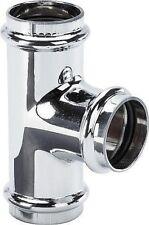 Viega Ablauf T-Stück in 32 mm verchromt 5697