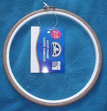 """DMC Grande Rotonda in Plastica Flexi CERCHIO Marrone 18cm/7"""" utilizzare come Telaio Frame &"""