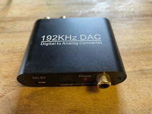 192KHZ DAC headphone amp