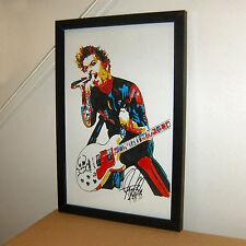 Billie Joe Armstrong, Green Day, Singer, Guitar Player, Punk, 11x17 PRINT w/COA