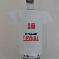 Miniature Bottle T-Shirt ideal gift for 18th Birthday