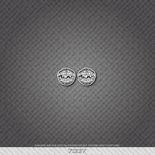 07337 Alan Bicycle Head Badge Sticker - Decal - Transfer