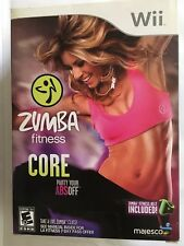 Zumba Fitness Core for Nintendo Wii System (WITH FITNESS BELT)