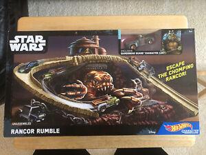 Hot Wheels Star Wars Rancor Rumble Track Exclusive Gamorrean Guard Car *NIB*