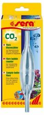 Sera flore CO2 Contador de burbujas para controlar la adición de CO2 en acuarios