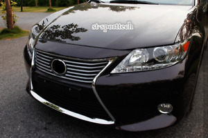 For 2013-2015 LEXUS ES350/ES250/ES300h Steel Front Bumper Down Cecorative Trim