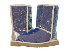 Women's Shoes UGG CLASSIC SHORT COSMOS Sequin Boots 1103796 QUARTZ