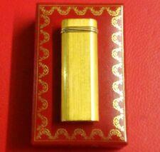 Beautiful Cartier Lighter - Gold  With Original Box